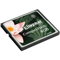 Memoria Compact Flash 4 Gb Cf/4gb Kingston