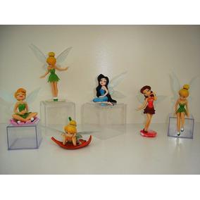 Tinker Bell Sininho 6 Bonecas Aventura No Mundo Das Fadas