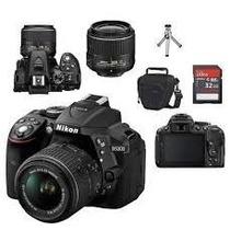 Câmera Nikon D5300 Full Hd +18-55mm + 64gb + Bolsa + Tripé