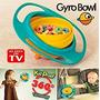 Gyro Bowl- Derrame Niños Resistentes Giroscópico Fuente Co