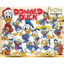 Kit Imprimible Pato Donald - 40 Cliparts - Ver Promocion