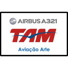 Aeronave Fsx - Frota Tam - Airbus A321 Pa