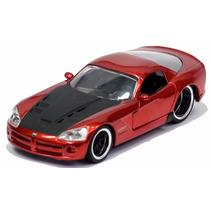Miniatura Dodge Viper 2008 Srt10 Vermelho Lopro Jada Toys