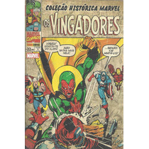 Colecao Historica Marvel Os Vingadores 03 Bonellihq 3 Cx107