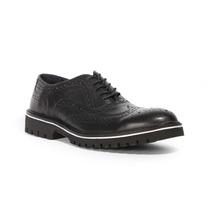Trender Zapato Estilo Bostoniano Color Negro