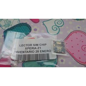 Stock Zocalo Lector De Sim Card Chip Xperia Z3 Entrega Inmed