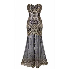 Vestido Longo Bordado Luxo Importado Pronta Entrega Brasil