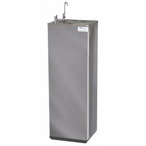 Bebedouro Purificador Industrial Refrigerado De Coluna Inox