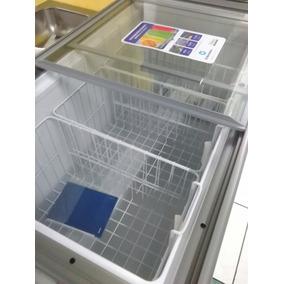 Congelador Ci300 Tapa De Vidrio Indurama