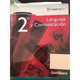 Libro Lenguaje Y Comunicacion Bicentenario 2 Medio Santillan