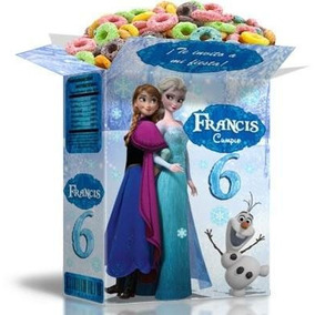 Kit Imprimible Frozen Disney Powerpoint 100% Editable 2x1