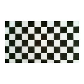 Tnt Estampado Quadriculado Preto E Branco (1,40m Largura)