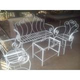 Bellos Muebles Para Jardín Y Porche Hierro Forjado (oferta)