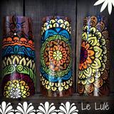 Tejas Mandalas Pintadas A Mano Colgantes Decorativas Oferta!