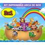 Kit Imprimible Arca De Noe