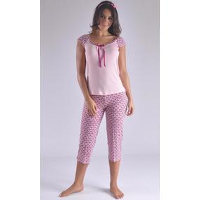 Pijama Capry Swamy Viscosa Fresca Femenina Mujer F8883