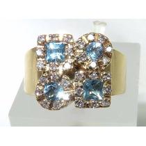 Pocao2005- Anel De Ouro 18k750 Diamantes Grife Vivara 967