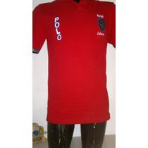 Camisa Playera Tipo Polo, Color Rojo Polo Ralph Lauren