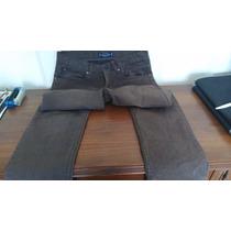 Pantalon Pull And Bear Talla 30 Marron Nuevo