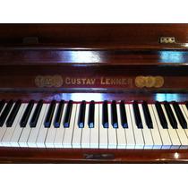 Piano Vertical Alemão Gustav Lehner - Impecável!