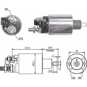 Automatico Motor Partida 24v. Volvo / Iveco / Agrale - Zm483