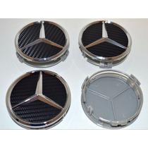 Kit 4 Centro Rin Mercedes Benz S Si Sik Ci Mi E Amg 75mm
