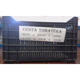 Cestas Plasticas Tomateras 31x35x52