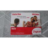 Tarjeta Telefonica Digicel De Haiti Sin Uso, Nueva