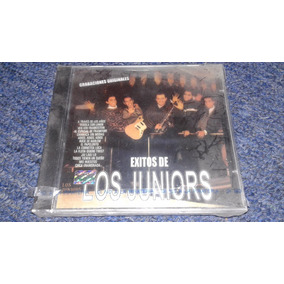 Los Juniors Cd Éxitos Mx Mexicano Teen Tops Hooligans Raro
