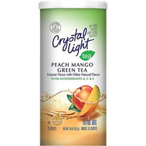 Té De Cristal Verde Claro Con Melocotón Y Mango Drink Mix 1,