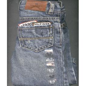 Pantalones Jeans De Bebe Tommy Hilfiger Original 6 A 9 Meses