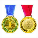 Medalha Honra Ao Mérito De Metal - Campeão - Vice - 3º Lugar