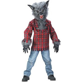 Disfraz Para Niño Traje Del Hombre Lobo Big Boys