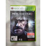 Juego Metal Gear V Ground Zeroes Xbox 360 Despachamos Hoy