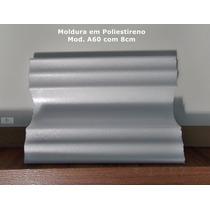 Molduras Roda-forro Em Poliestireno Mod A60 Com 8cm-promoçao