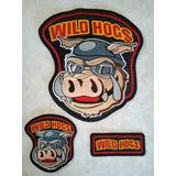 Wild Hogs Harley Davidson ( Juego De 3 Parches Bordados )