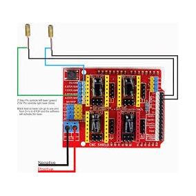 Shield Cnc Impresora 3d Driver A4988 Para Arduino Uno