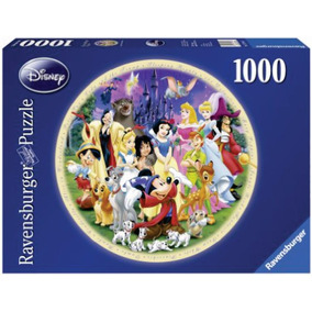 Ravensburger Rompecabezas Mundo Disney 1000 P Circular 15784