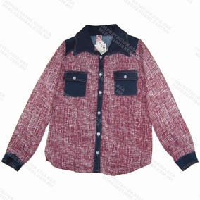 Blusas Mujer Camisas Moda Indie Hipster Western Ropa Rocker