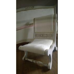 silla antigua sillon dormitorio tallado luis xv xvi francesa