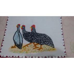 Kit Panos De Prato Ou Fogão Com Crochê Promoção Oferta