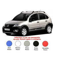 Kit Faixa Lateral Adesivos Citroen C3 Esportivos Acessórios