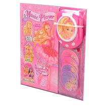 Coleção Barbie Music Livro + 4 Cds + Player - Ciranda