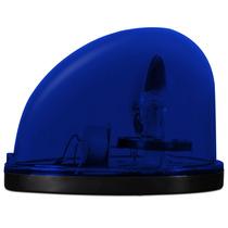 Giroflex Luz De Emergência Azul Sinalização Viatura Moto