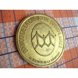 Placa O Medalla Antigua Banco Ciudad Buenos Aires 1878-1973