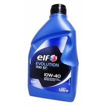 Óleo De Motor Elf Evolution700 St Semissintético 10w40 Sl 1l