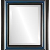 Espejo De Pared Lancaster Framed Rectangle In Royal Blue, 2