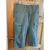 Pantalón Fus-talle 30-cargo-contorno De Cintura Mide 86cm.