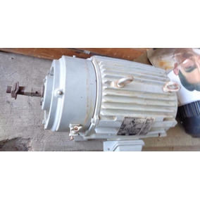 Motor Eléctrico 15 Hp Wound Rotor Motor Harnischfeger P&h