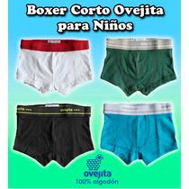Boxer Corto Y Largo Ovejita Para Niños